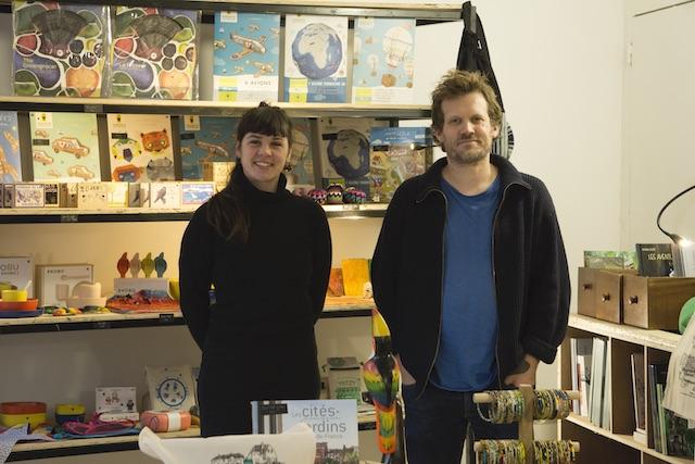 Wiebke et Elie Preveral de la Petite Boutique de Stains / © Edwin Gurbhoo