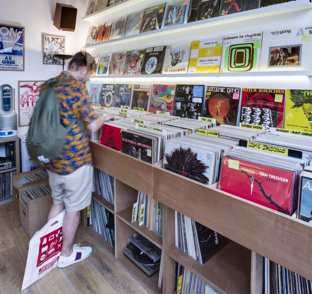 Panorama Records au marché Dauphine dans les Puces de Saint-Ouen / © Marché Dauphine
