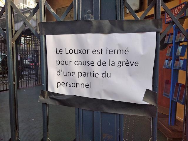 Le cinéma le Louxor à Barbès / © Solenn Cordroc'h pour Enlarge your Paris