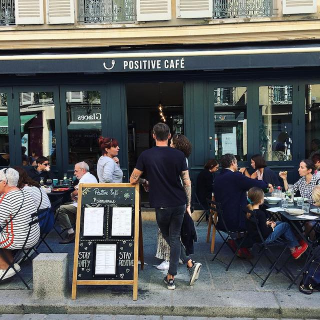 Le Positive Café à Versailles / © Positive Healthy Foods
