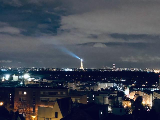 La vue sur Paris depuis Mourchevel et le Mont Valérien / ©  Steve Stillman pour Enlarge your Paris