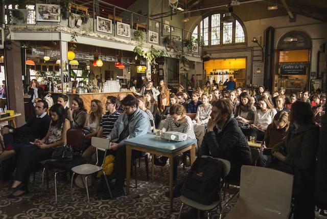 Conférence à la Recyclerie à Paris / © La Recyclerie