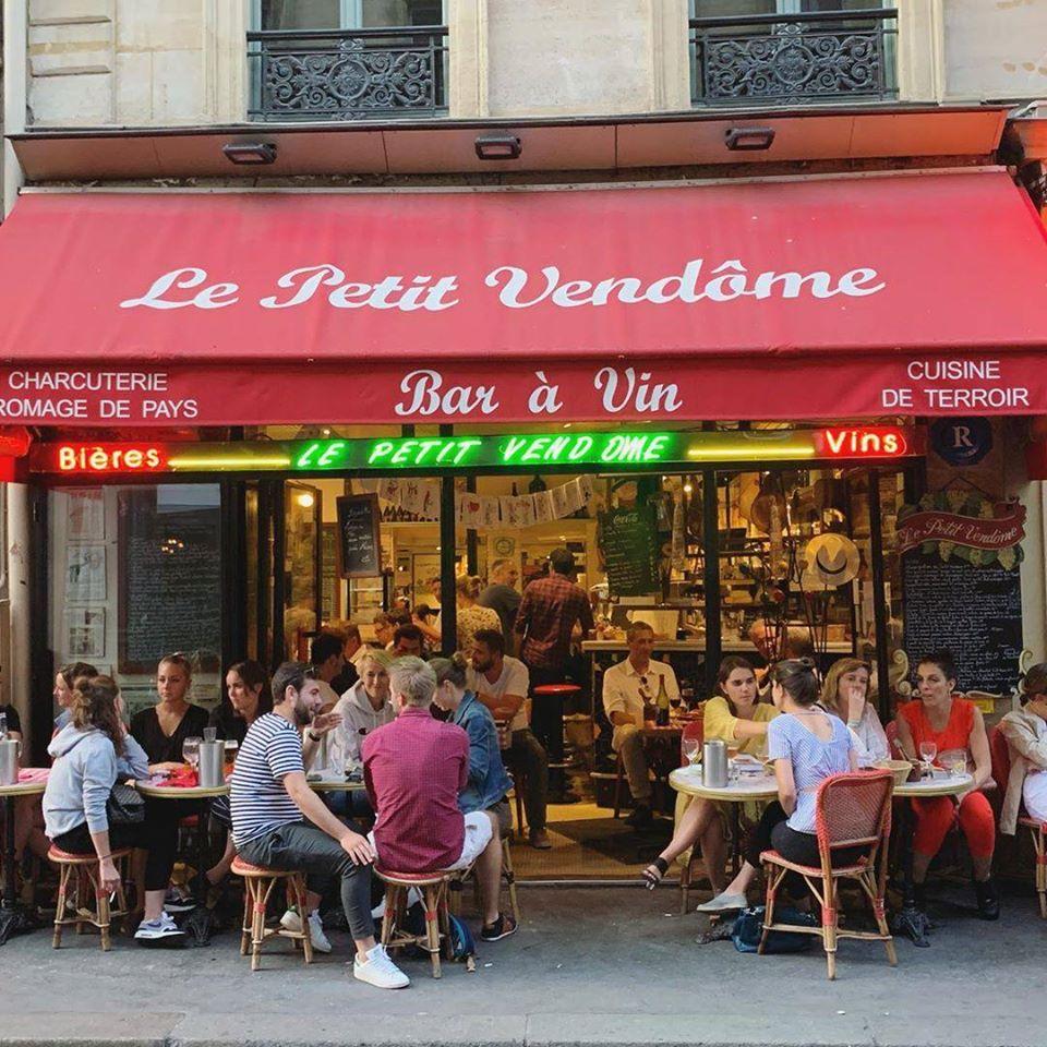"""Le Petit Vendôme à Paris, l'une des adresses du Guide des restaurants """"bon esprit"""" / © Le Petit Vendôme"""