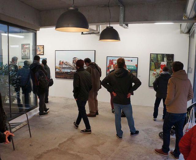 La galerie Mathgoth rue Hélène Brion / @ Mathgoth