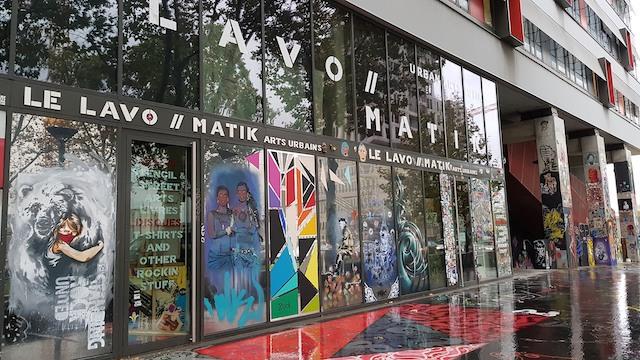 Le Lavo // Matik boulevard du Général d'armée Jean Simon / @ Le Lavo // Matik