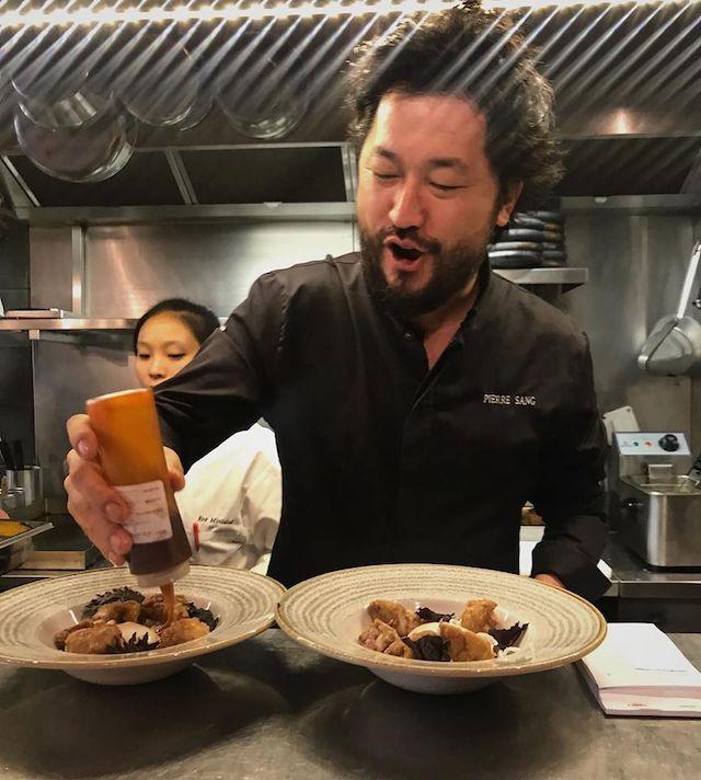 Pierre Sang, chef de trois restaurants dans le XIe / © Pierre Sang