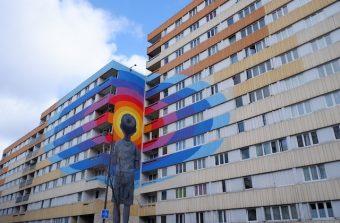 Promenade le long du Boulevard Paris 13, galerie street art à ciel ouvert