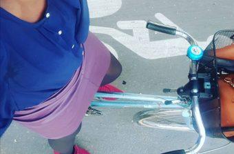 Un challenge sur Twitter pour démocratiser le port de la jupe à vélo