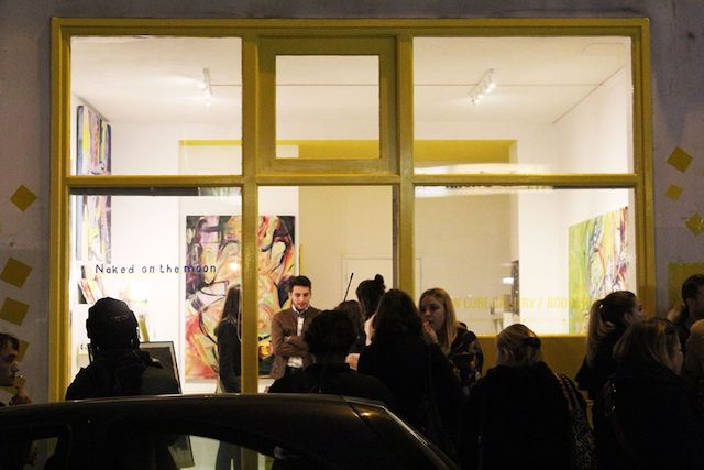 La Yellow Cube Gallery rue du dessous des berges / @ Yellow Cube Gallery