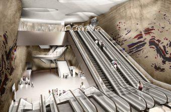 Stromae, JR, Buren… Le Grand Paris Express fait appel aux artistes pour sublimer ses 68 gares