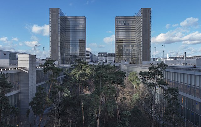 La BNF à Paris / ©  Michaelstephaneboucher (Wikimedia commons)