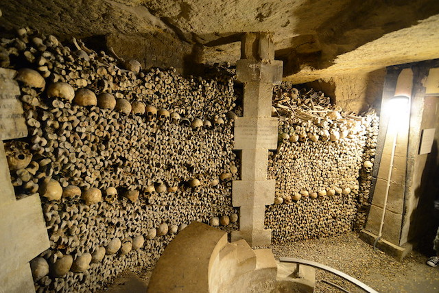 Les catacombes de Paris / © Jorge Láscar (Creative commons - Flickr)