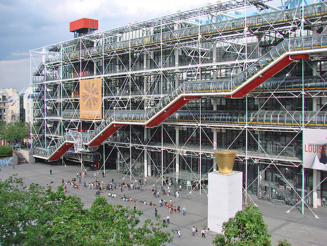 Le Centre Pompidou à Paris / © Jean-Pierre Dalbéra (Creative commons - Flickr)