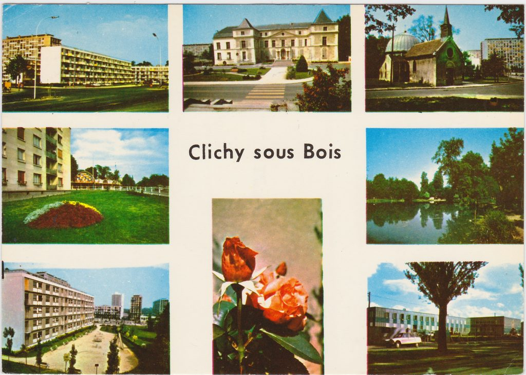 Clichy-sous-Bois. DR, collection Renaud Epstein