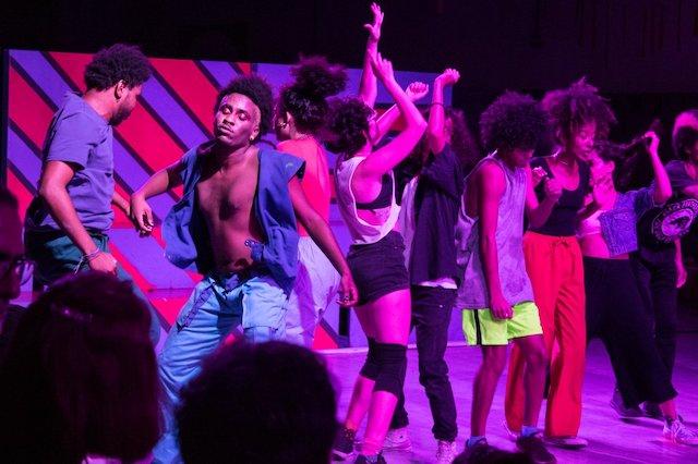 Le ColetivA Ocupação est l'un des invités du festival Panorama au Centre national de la Danse à Pantin / © Yzabella de Oliveira