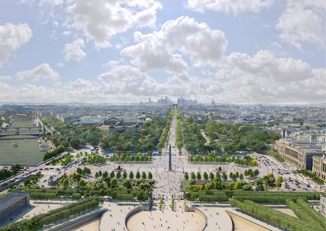 Les Parisiens et Grand-Parisiens sont invités jusqu'au 11 mai à donner leur avis sur l'avenir des Champs-Elysées via make.org / © PCA-STREAM