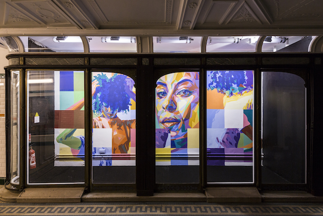 La galerie de Valois ouverte exceptionnellement au public au métro Palais-Royal dans le cadre du jeu de piste organisé par la RATP pendant six mois / © Dourone - Saato - Jonk