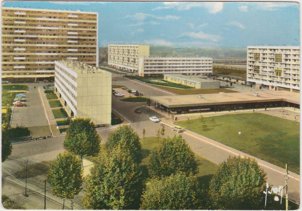 La Courneuve, la cité des 4000. DR. Collection Renaud Esptein