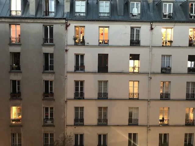 La vue sur les voisins d'en face / © Olivier Razemon