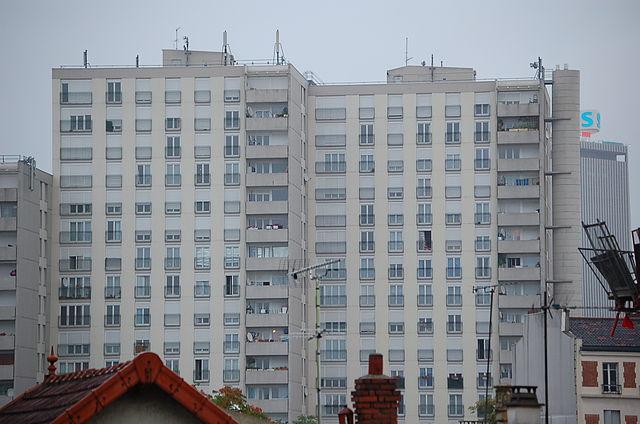 Logements sociaux à Saint-Denis / DR (Wikimedia commons)