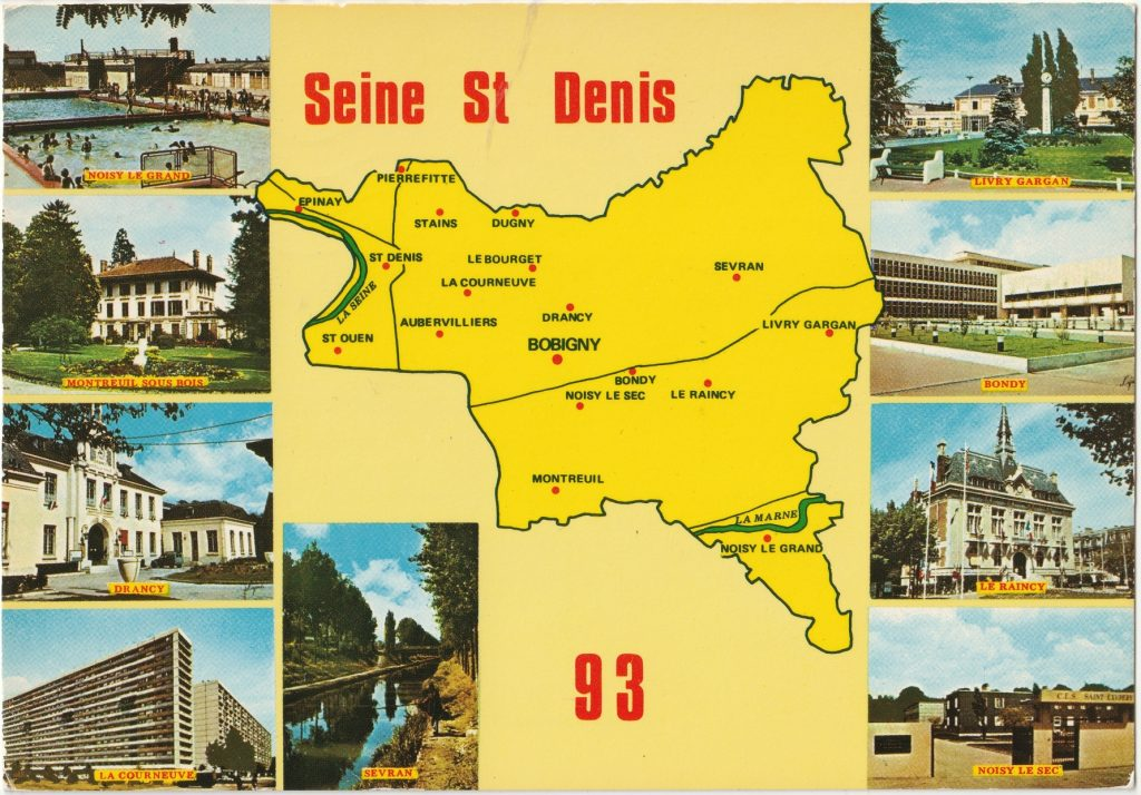 La Seine-Saint-Denis. DR, collection Renaud Epstein
