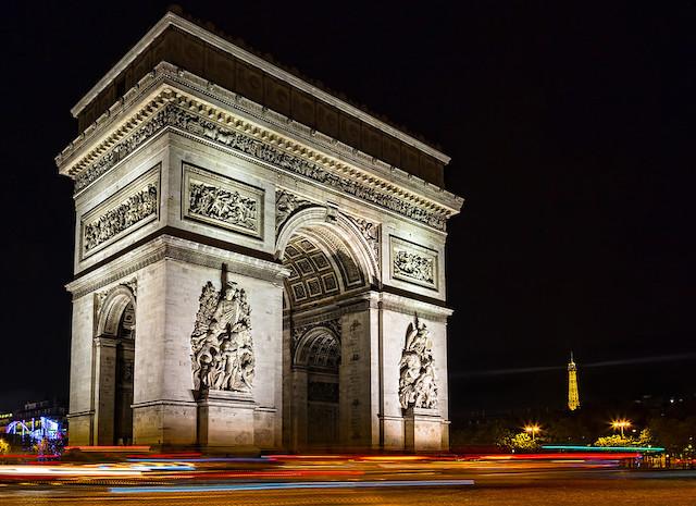 L'Arc de Triomphe à Paris où se produira Bob Sinclar le 4 mai pour récolter des dons en faveur de la lutte contre le covid-19 / © Sheila Sund (Creative commons - Flickr)