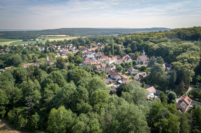 Béthemont-la-Forêt dans le parc naturel Oise - Pays de France / © PNR Oise - Pays de France
