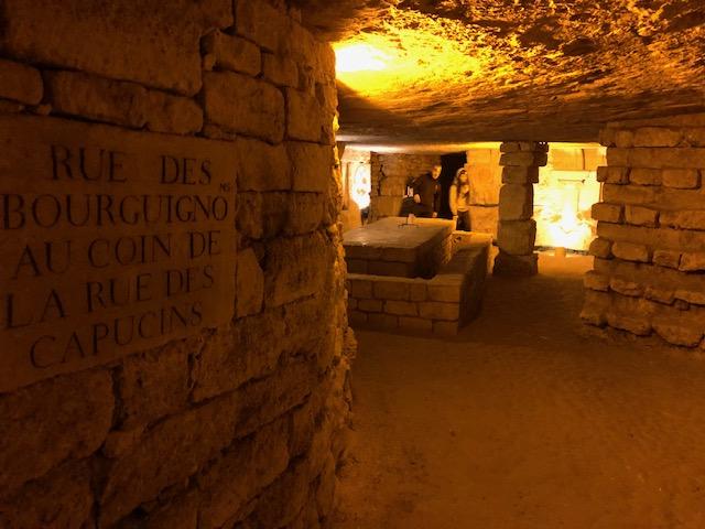 Moins connue que les catacombes de Paris, la carrière des Capucins dans le 14e fait l'objet de visites guidées /  © Steve Stillman pour Enlarge your Paris