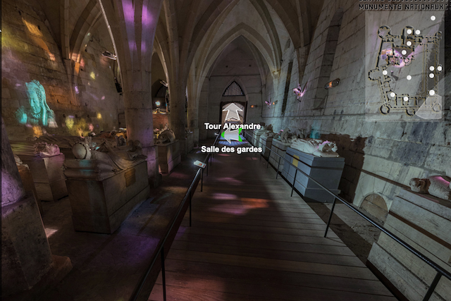 Visite virtuelle du château de Pierrefonds / ©  CMN