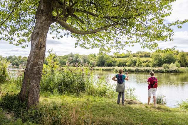 Etang de Vallière dans le parc naturel du Vexin / © Cyril Badet