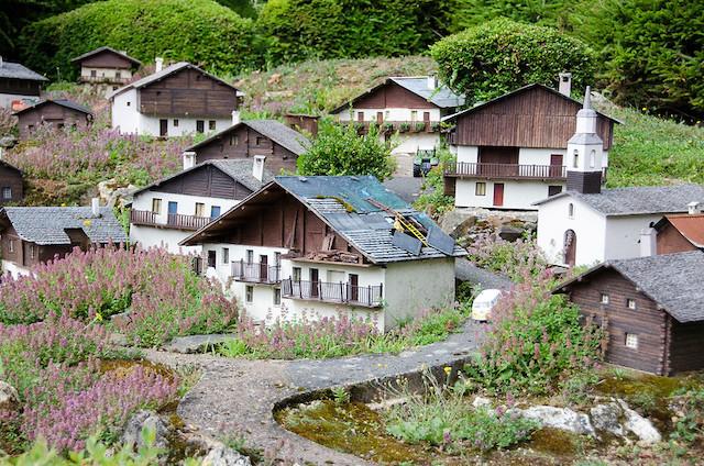 Un village savoyard / © Pitpit75 (Creative commons - Flickr)