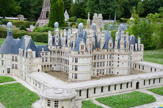 Le château de Chambord dans le Loir-et-Cher / © Pitpit75 (Creative commons - Flickr)
