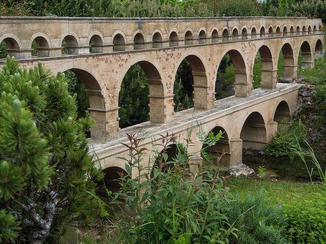 Le pont du Gard / © Denis Bourez (Creative commons - Flickr)