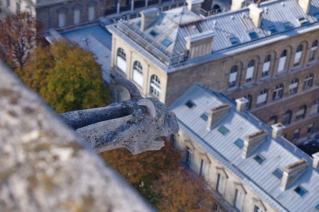 L'Hôtel-Dieu à Paris vu depuis Notre-Dame / © Hilader (Wikimedia commons)