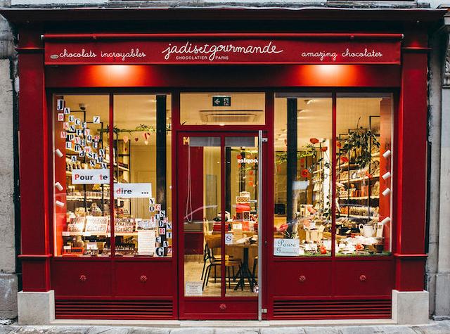L'une des chocolateries Jadis et gourmande à Paris / © Jadis et gourmande