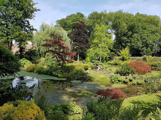 Les jardins du château de Courances dans le parc naturel du Gâtinais / © Shogunangel (Creative commons - Flickr)