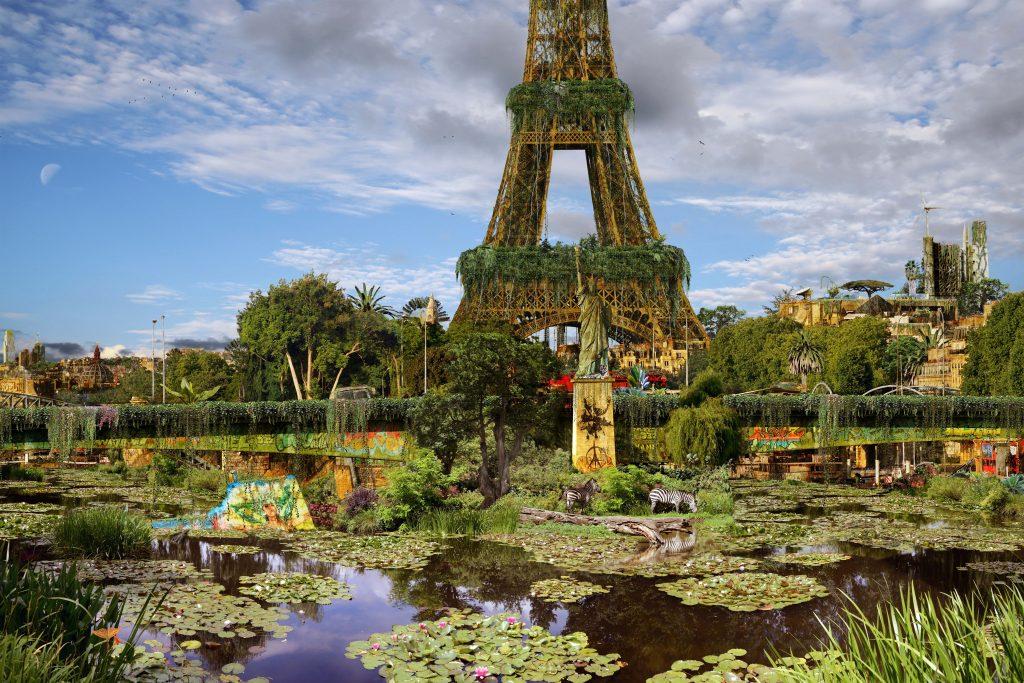 L'île aux cygnes à Paris / © Chris Morin Eitner