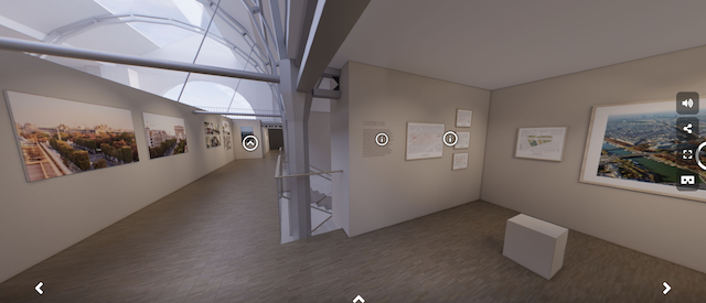 """Exposition """"Champs-Elysées, histoire et perspective"""" sur le site du Pavillon de l'Arsenal /  DR"""