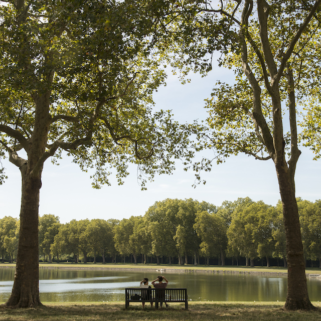 La pièce d'eau des Suisses à Versailles / © Jérômine Derigny pour Enlarge your Paris