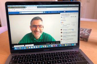 Après les dictées sur Facebook, l'écrivain de Saint-Denis Rachid Santaki se lance à la radio