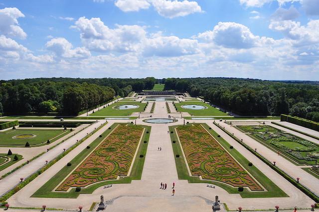 Les jardins du château de Vaux-le-Vicomte / © Laurent Bernier (Creative commons - Flickr)