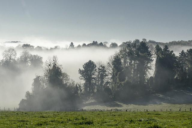 Matin brumeux sur le parc naturel du Vexin / © Vyclem 78 (Creative commons - Flickr)