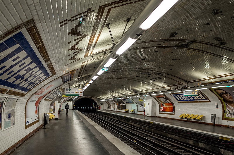 La station Abesses sur la Ligne 12 sera fermée à partir du 11 mai / © Sergejf