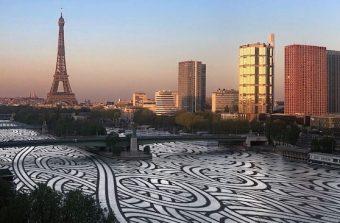 Un street artiste poétise la vue de votre fenêtre pendant le confinement