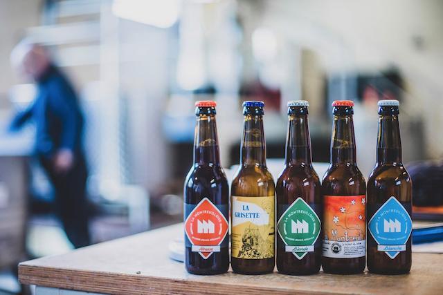Les bières de la brasserie artisanale La Montreuilloise à Montreuil / © La Montreuilloise