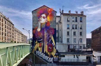 Un concours pour imaginer un nouveau visage à l'impératrice du street artiste Fin Dac à Pantin
