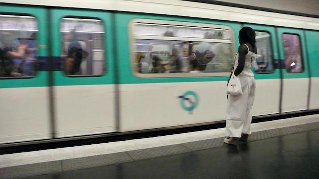 Les quais du métro à Paris / © Franziska (Creative commons - Flickr)