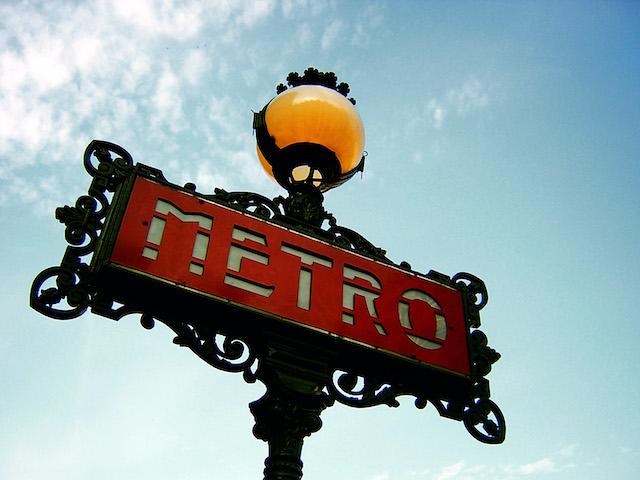 Un candélabre du métro parisien / © Fabio Venni (Flickr - Creative commons)