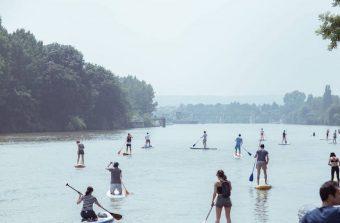 L'association Happy Seine vous fait découvrir la Seine en paddle