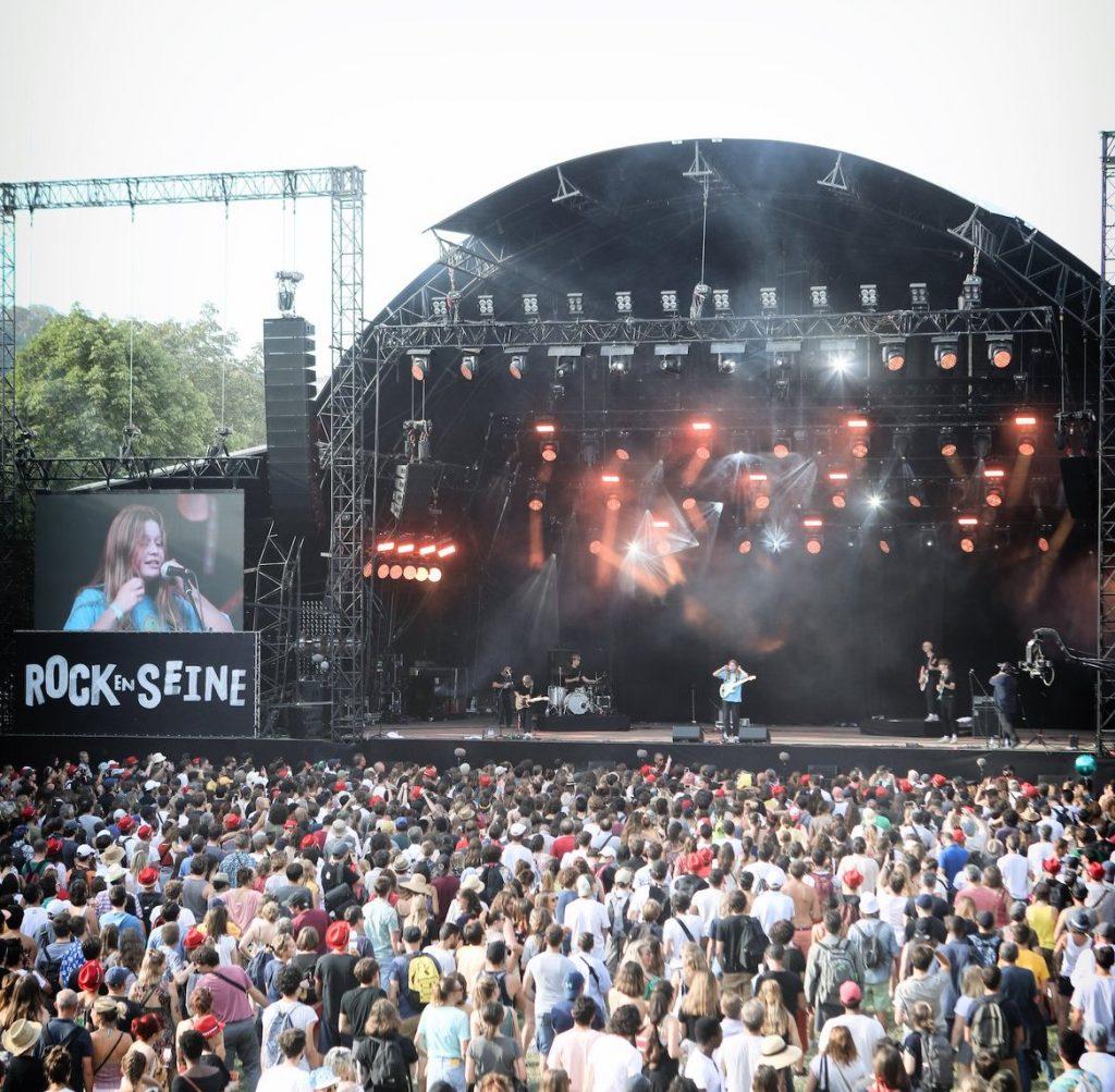Le festival Rock en Seine au Domaine de Saint-Cloud / © Rock en Seine (Facebook)
